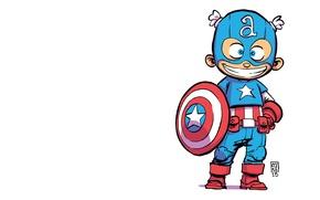 Картинка костюм, щит, Капитан Америка, Captain America, Стивен Роджерс