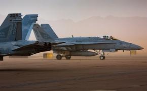 Картинка оружие, самолёты, FA18 Hornets