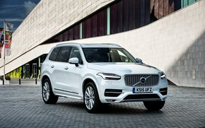 Обои XC90, вольво, 2015, UK-spec, Volvo, Inscription