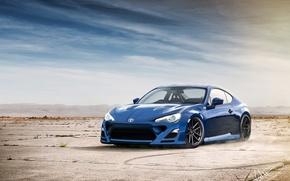 Картинка Небо, Спорт, Пустыня, Toyota, Car, Тойота, GT86