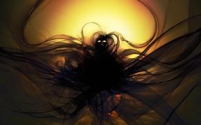 Картинка глаза, человек, субстанция, фигура, арт, Neville Dsouza