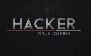 Картинка Loading, Hackers, 1337, PCbots, Virus