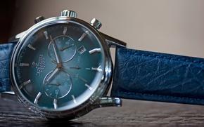 Картинка Blue, Steel, Watch, Leather, Jack Pierre