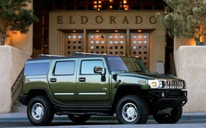 Картинка green, Hummer, eldorado