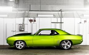 Картинка машина, зеленый, Chevrolet, тачка, Rides Green Monster 31