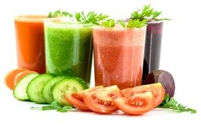 Картинка огурец, сок, овощи, помидор, морковь, свекла
