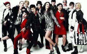 Обои сериал, Lea Michele, Glee, лузеры, fashion