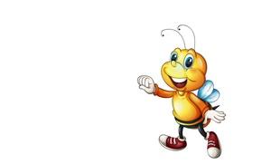 Картинка детская, пчёлка, арт