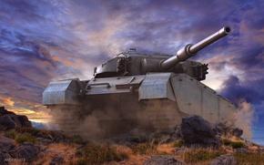 Картинка обои, танк, world of tanks, Центурион, Centurion, обои wot