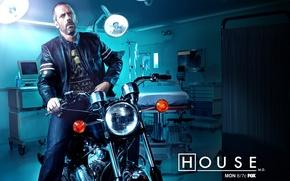 Обои Мотоцикл, доктор, байк, больница, Хаус