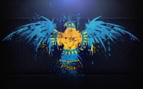 Картинка #Казахстан, #Kazakhstan, #Флаг