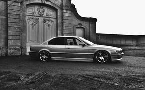 Картинка диски, БМВ, E38, тюнинг, Бумер, 750il, BMW, stance