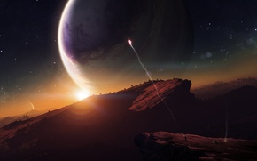 Картинка Планета, Last Hope, Последня Надежда, Сигнальный Огонь