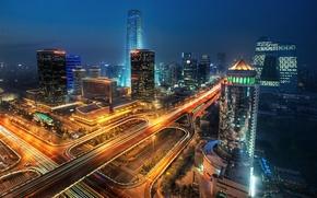 Картинка китай, мегаполис, china, пекин, beijing, megapolis, pekin, бэйцзин