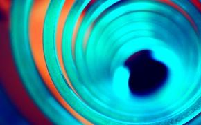 Обои свет, цвет, круг, кольцо, тоннель