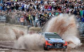 Картинка Брызги, Hyundai, WRC, Rally, i20