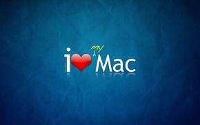 Обои стиль, apple, mac, логотип