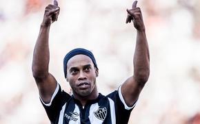Картинка футбол, легенда, футболист, Ronaldinho, роналдиньо, serie a brasilian, atletico mineiro, бразильская серия а, атлетико минейро