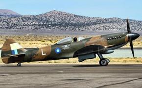 Картинка оружие, самолёт, Spitfire