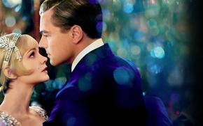 Картинка любовь, танец, Нью-Йорк, love, New York, Леонардо ДиКаприо, Leonardo DiCaprio, The Great Gatsby, Carey Mulligan, …