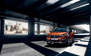 Картинка Peugeot, пежо, кроссовер, 3008