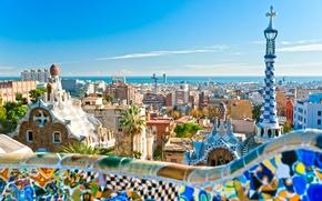 Картинка город, Испания, Барселона