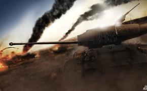 Картинка США, WoT, World of Tanks, Мир Танков, SuperPershing, T26E4
