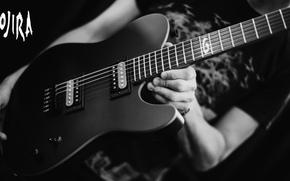 Картинка music, metal, guitar, logo, groove, joe duplantier, gojira