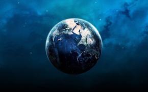 Картинка земля, планета, шар