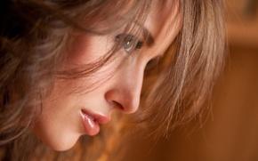 Картинка взгляд, лицо, портрет, Malena Morgan