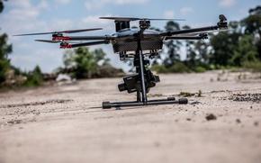 Картинка беспилотник, дрон, квадрокоптер