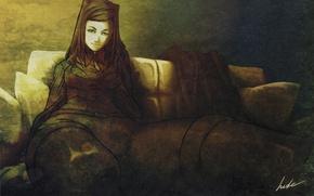 Картинка арт, Ergo Proxy, Re-L Mayer, Рил
