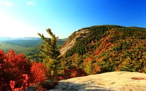 Картинка Горы, Осень, Nature, Fall, Mountain, Autumn, Colors