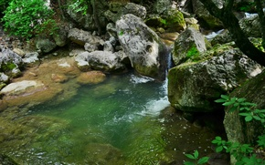 Картинка природа, каньон, ущелье, Крым, Большой Крымский Каньон