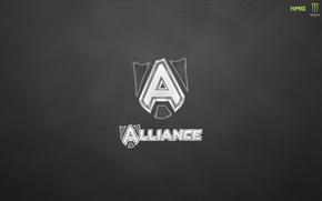 Картинка wallpaper, logo, alliance, dota 2, team alliance