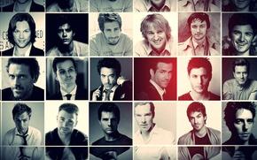 Картинка Ryan Reynolds, Hugh Laurie, Robert Downey Jr, Jensen Ackles, Ian Somerhalder, Jude Law, James McAvoy, …