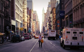 Обои город, улицы, new york