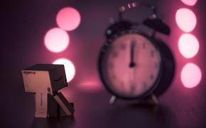 Картинка праздник, коробка, часы