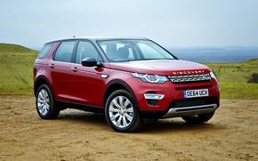 Картинка Land Rover, Discovery, Sport, дискавери, 2015, HSE, ланд ровер, SD4, L550
