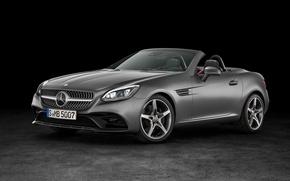 Картинка Mercedes-Benz, кабриолет, мерседес, AMG, R172, SLC-Class