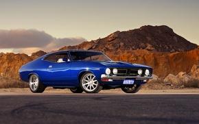 Картинка форд, muscle car, автообои, hq wallpaper, Ford Falcon GT