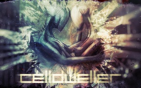 Картинка цвета, абстракция, чувства, существа, она, Celldweller