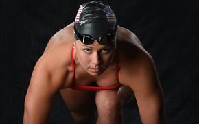 Картинка look, swimmer, pose starting position