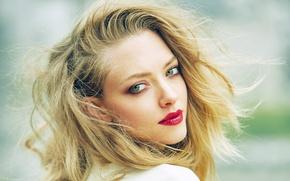 Картинка портрет, макияж, актриса, прическа, красавица, шатенка, Amanda Seyfried, Elle, Аманда Сейфрид, Feng Hai