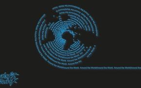 Картинка Music, Daft Punk, Around The World