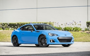 Картинка Subaru, Голубой, BRZ, HyperBlue