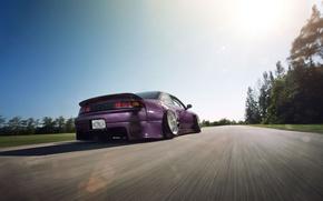Картинка Nissan, low, 240SX