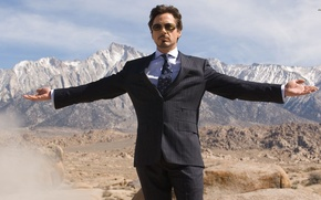 Картинка suit, robert downey, celebrity, iron-man