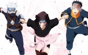 Картинка Naruto Shippuden, Hatake Kakashi, Noraha Rin, kuawaii, Tobi, oriental, asiatic, genin, asian, Hiouri-Nin, Uchiha, 4th ...