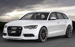 Обои ABT, Avant, AS6, авант, ауди, Audi, универсал, 2011